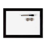 Quartet Espresso Dry Erase Board