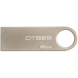 Kingston 8GB DataTraveler SE9 USB 2.0 Flash Drive - Champagne