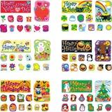 CDP110180 - Carson-Dellosa Holiday Bulletin Board Sets