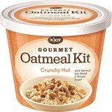 Njoy Crunchy Nut Oatmeal - Resealable Lid, Individually Wrapped - Cup - 1 Serving Cup - 2.29 oz - 8  SUG40776