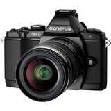 Olympus OM-D E-M5 16.1 Megapixel Mirrorless Camera with Lens (Body with Lens Kit) - 14 mm - 42 mm - Black