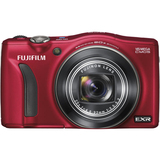 Fujifilm FinePix F770EXR 16 Megapixel Compact Camera - Red