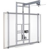 Balt iTeach Wall Mount for Whiteboard, Cart, Projector - Steel - Platinum BLT27606