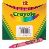 Crayola Bulk Crayons - Pink - 12 / Box CYO520836010