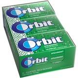 Orbit Flavored Sugar-free Gum - Spearmint - Sugar-free, Individually Wrapped - 12 / Box MRS11484