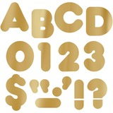 "TEPT479 - Trend Metallic Casual Uppercase 4"" Ready Lett..."