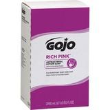 Gojo RICH PINK Antibacterial Lotion Soap - Citrus Scent - 67.6 fl oz (2 L) - Bacteria Remover, Soil  GOJ722004