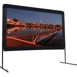 "Elite Screens Yard Master OMS120H Projection Screen - 120"" - 16:9 - Floor Mount"