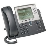 Cisco Unified 7962G IP Phone - Wall Mountable, Desktop - Dark Gray, Silver