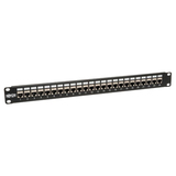 Tripp Lite 24-Port Shielded Cat6 Feed-through Patch Panel