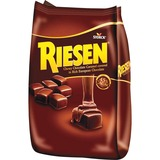 Riesen Chewy Chocolate Caramels - Cacao, Caramel - Individually Wrapped - 1.87 lb - 1 / Bag STK398052