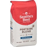 Starbucks Level 3 Seattle's Best Whole Bean Coffee - Regular - Nutty - Medium - 12 oz - 1 Each SBK011008570