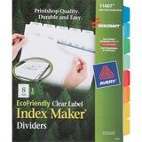 NSN6006970 - SKILCRAFT 8-Tab Set Index Maker Dividers