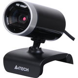 Azend PK-910H Webcam - 2 Megapixel - 30 fps - Silver, Glossy Black - USB 2.0