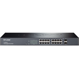 TP-LINK 16-Port Gigabit Smart Switch with 2 Combo SFP Slots