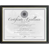 DAXN1188N5 - DAX Black & Gold Certificate Frames