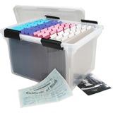 IRS110600 - Iris Weathertight Clear File Box