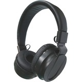 Compucessory Cushion Stereo Headphones w/Vol Cntrl - Stereo - Black - Mini-phone - Wired - 32 Ohm -  CCS15155