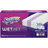 "WetJet System Refill Cloths, 14"" x 3"", White, 24/Box  MSN:  PAG08443"