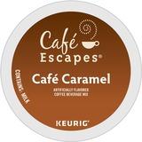 Café Escapes® Café Caramel K-Cups, 24/Box GMT6813
