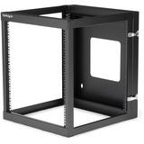 StarTech.com 12U 22in Depth Hinged Open Frame Wall Mount Server Rack