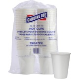 GJO19047CT - Genuine Joe Lined Disposable Hot Cups