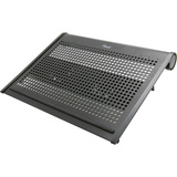 "Rosewill 15.6"" Notebook Cooler with Dural 80mm Vertical Adjustable Fans Model RLCP-11001"