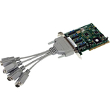 StarTech.com 4 Port PCI RS232 Serial Adapter Card High Speed 16950 cable included