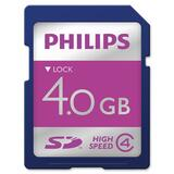 Philips 4 GB Secure Digital (SD) Card
