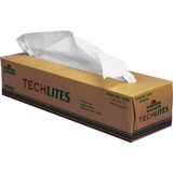 SKILCRAFT TechLites One-ply Cleaning Wipes - For Lens, Electronic Equipment - 2520 / Box - White NSN5436492