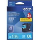 Brother Innobella LC105CS Original Ink Cartridge - Cyan