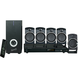 Supersonic SC-37HT 5.1 Home Theater System - 25 W RMS - DVD Player