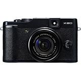 Fujifilm X20 12 Megapixel Compact Camera - Black