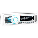BOSS AUDIO MR1306UA Marine Single-DIN MECH-LESS Multimedia Player (no CD or DVD), Receiver, Detachable Front Panel, Wireless Remote - Plays | MP3/USB/SD