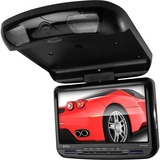 "Boss Audio BV90BA Mobile Video Flip-Down 9"" Screen DVD/CD/USB/SD/MP3 Player w/ Remote - DVD-RW, DVD+RW, CD-RW - DVD Video, Video CD, SVCD, MP4, MPEG, DVCD - CD-DA, MP3, WMA - FM - SD, MultiMediaCard (MMC), Memory Stick - USB - Auxiliary Input - Roof-mountable"