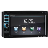 "Boss Audio BV9368I In-Dash Double-DIN 6.2"" Touchscreen Monitor DVD Player - 4 Channels - DVD-RW, DVD+RW, CD-RW - DVD Video - CD-DA, MP3, WMA - AM, FM - SD, MultiMediaCard (MMC) - USB - Auxiliary Input - iPod/iPhone Compatible - In-dash"