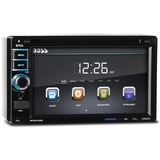"Boss Audio BV9372BI In-Dash Double-DIN 6.2"" Touchscreen Monitor Bluetooth DVD Player - 4 Channels - DVD-RW, DVD+RW, CD-RW - DVD Video, Video CD - CD-DA, MP3, WMA - AM, FM - SD, MultiMediaCard (MMC) - Bluetooth - USB - Auxiliary Input - iPod/iPhone Compatible - In-dash"