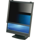 "SKILCRAFT Lightweight Microlouver Privacy Filter Black - For 17""Monitor NSN6137629"