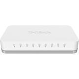 D-Link 8-Port Gigabit Unmanaged Metal Desktop Switch