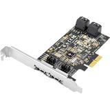 SIIG DP SATA 6Gb/s 4-Port Hybrid PCIe