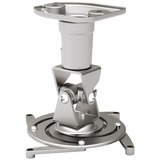 Amer Mounts Universal Ceiling Projector Mount - Silver