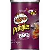 Pringles BBQ Grab/Go Potato Crisps - Barbeque - Can - 1 Serving Can - 2.50 oz - 12 / Carton KEB84562