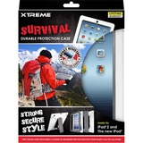 Xtreme Cables Gray Survival Durable Protection Case for the iPad 2 and The new iPad