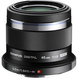 Olympus M.ZUIKO DIGITAL - 45 mm - f/1.8 - Fixed Focal Length Lens for Micro Four Thirds