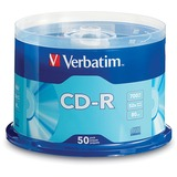 Verbatim CD-R 700MB 52X with Branded Surface - 50pk Spindle