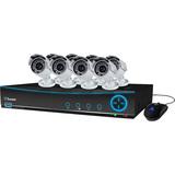 Swann DVR9-4200 9 Channel 960H Digital Video Recorder & 8 x PRO-642 Cameras