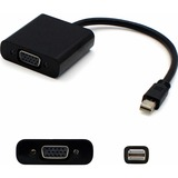 AddOn Bulk 5 Pack Mini-Displayport to VGA Black Adapter Cable - M/F