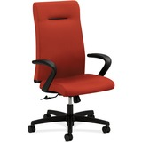 HON Ignition Seating Series High-back Poppy Chair - Fabric Cranberry Seat - Cranberry Back - Wood Fr HONIE102CU42