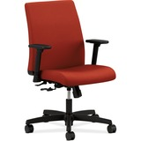 HON® Ignition Series Low-Back Task Chair, Poppy Fabric Upholstery HONIT105CU42