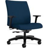 "HON Ignition Big and Tall Chair - Fabric Mariner Seat - Fabric Mariner Back - 5-star Base - 23.50"" S HONIW801NT90"